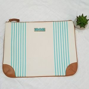 NWOT Stella and Dot large cosmetic bag